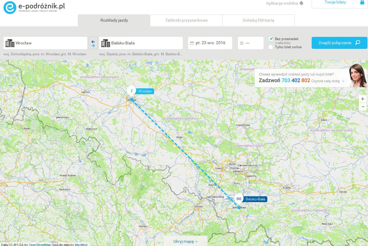 Путешествуем по Польше с «Подорожником»