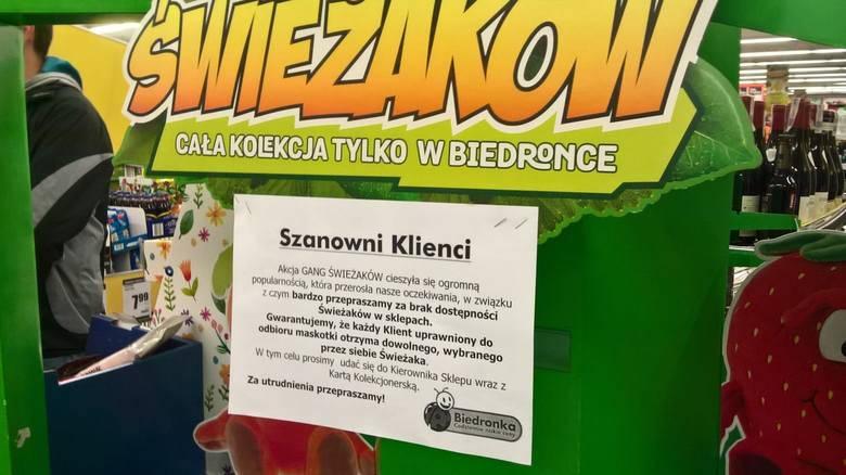 Бедронка будет раздавать Świeżaki под запись