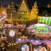 Последний уик-энд работы рождественской ярмарки во Вроцлаве