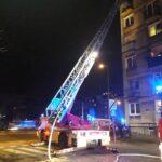 Пожар в многоэтажке в самом центре Вроцлава