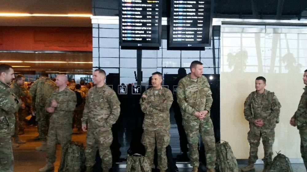 Встречайте, американские военные во Вроцлаве уже в эту субботу