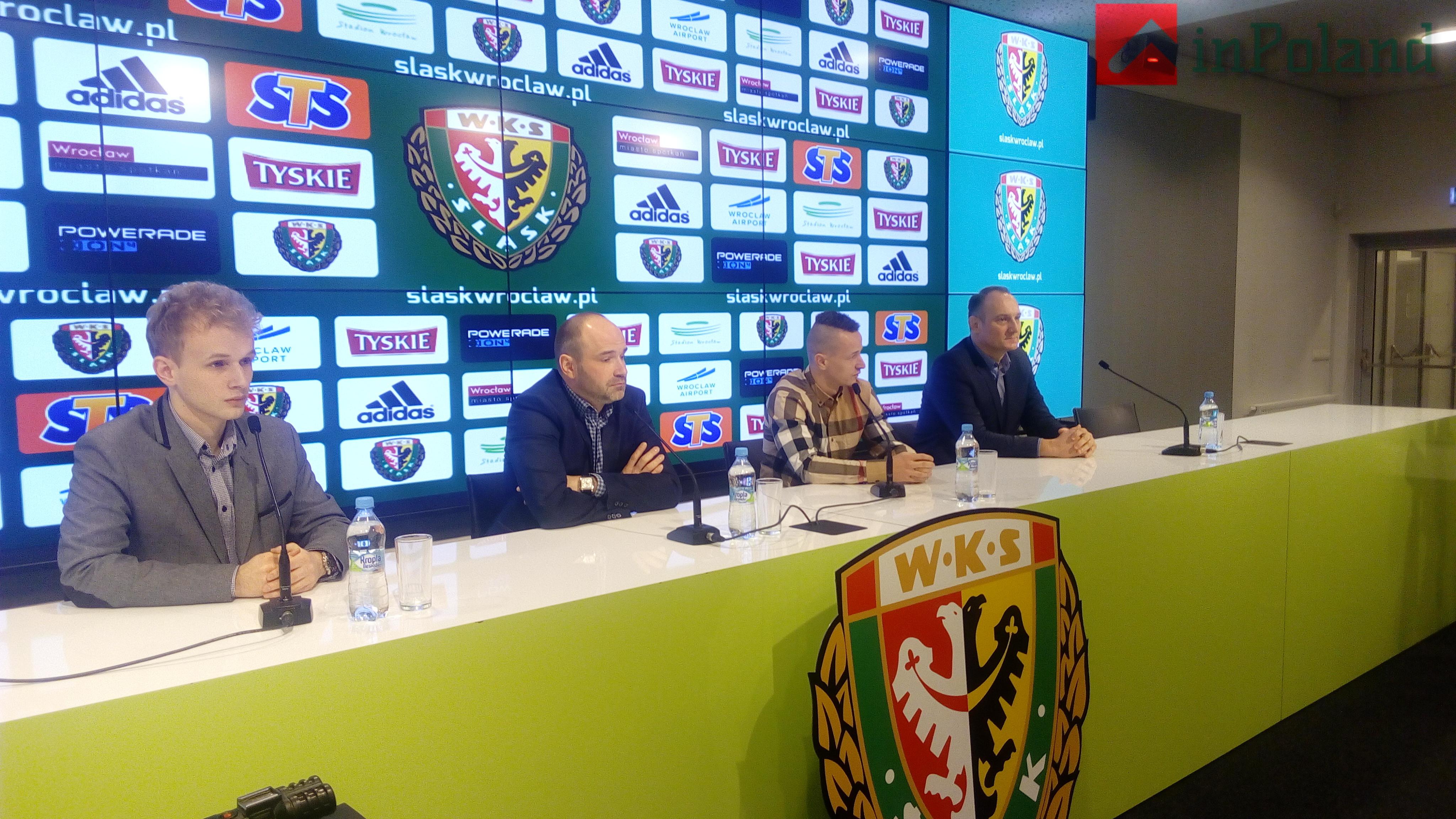 «Шлёнск»  Вроцлав получил нового игрока