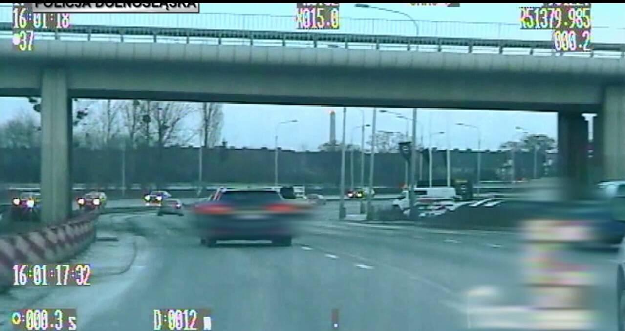 Во Вроцлаве пьяный водитель рассекал по городу почти на 100 км/ч