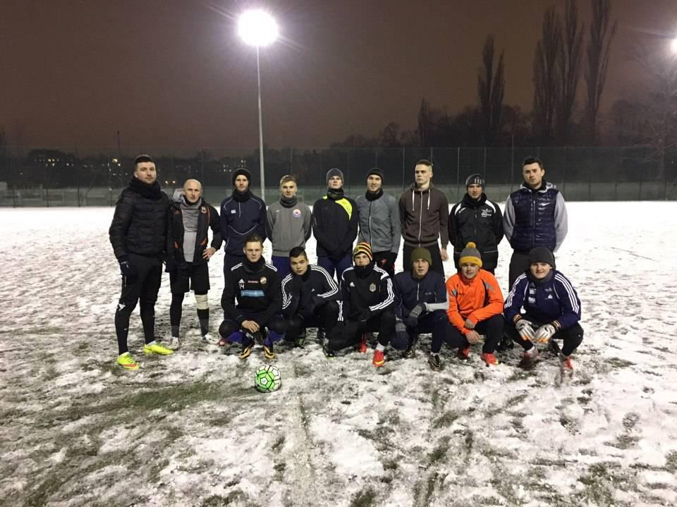 Футболисты «Динамо» Вроцлав вышли из зимнего отпуска