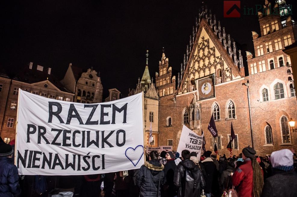 Во Вроцлаве полтысячи горожан выступили против расизма