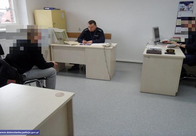 В Нижней Силезии полиция задержала напавшего на иностранца