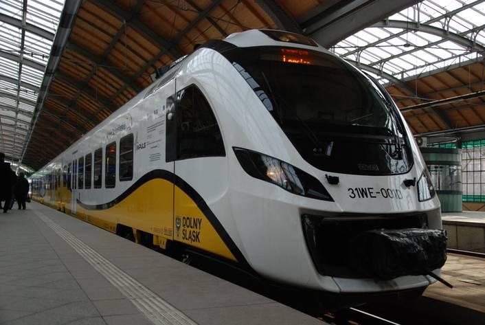 Из Вроцлава можно будет доехать поездом до Легницы, Свидницы и Дзержонюва