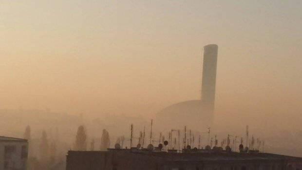 Над Вроцлавом снова появляется смог