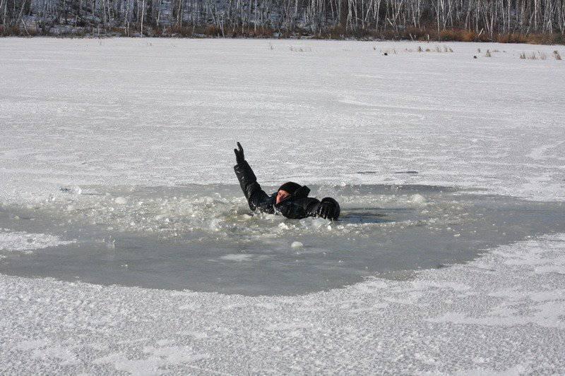 Во Вроцлаве девушка провалилась под лёд побежав за собакой