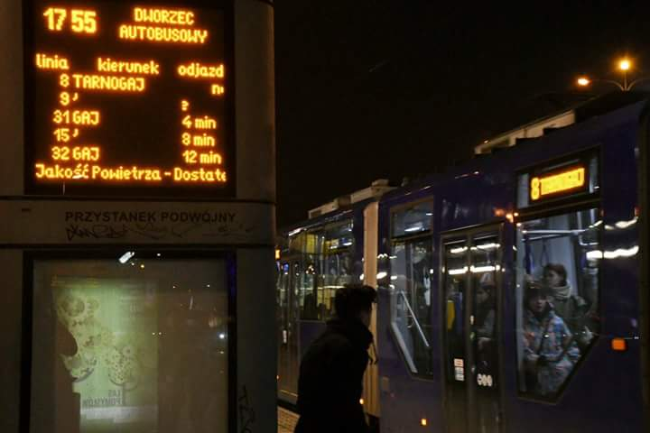 Во Вроцлаве на остановках появится информация о загрязнении воздуха
