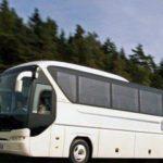 В Нижней Силезии во время движения загорелся автобус с пассажирами