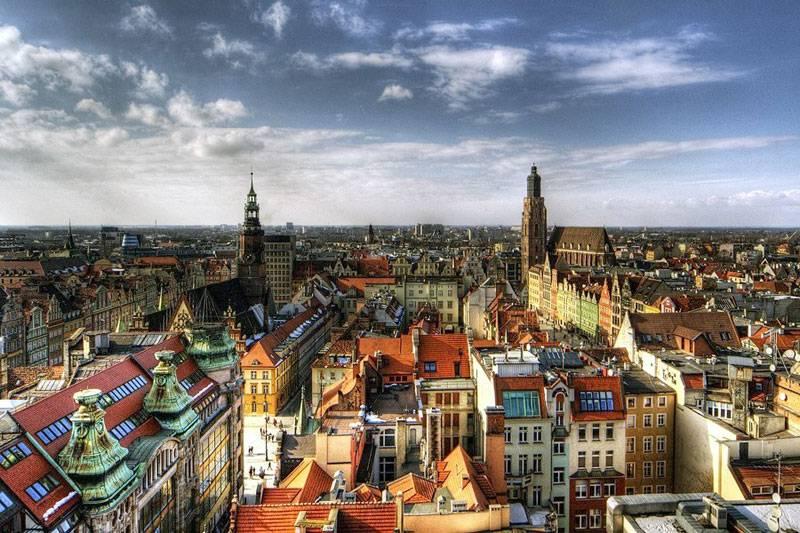 Вроцлав вошел в топ самых красочных мест мира