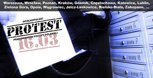 Во Вроцлаве почтальоны выйдут на акцию протеста