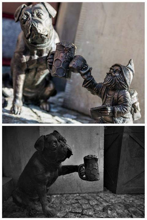 Во Вроцлаве украли статуэтку бронзового гнома