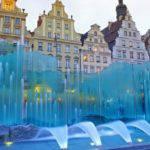 С завтрашнего дня во Вроцлаве заработают фонтаны