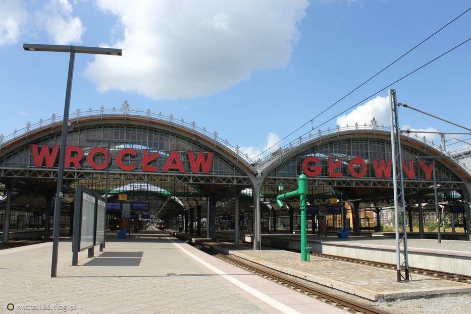 Во Вроцлаве возле вокзала поезд сбил мужчину