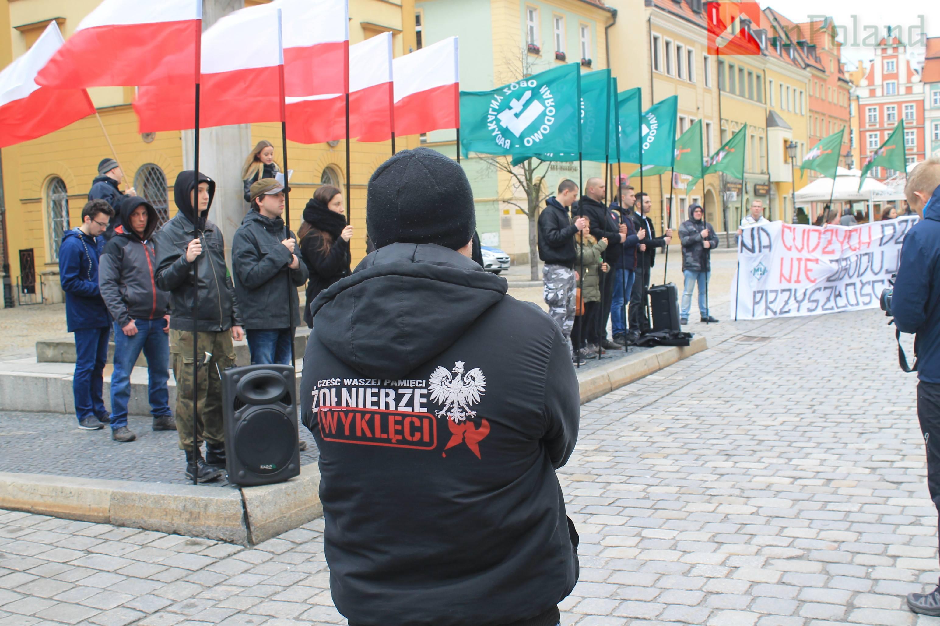 Мэр Вроцлава осудил антиукраинскую акцию польских ультраправых