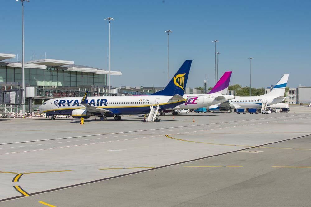 Ryanair запустил рейс из Вроцлава во Львов