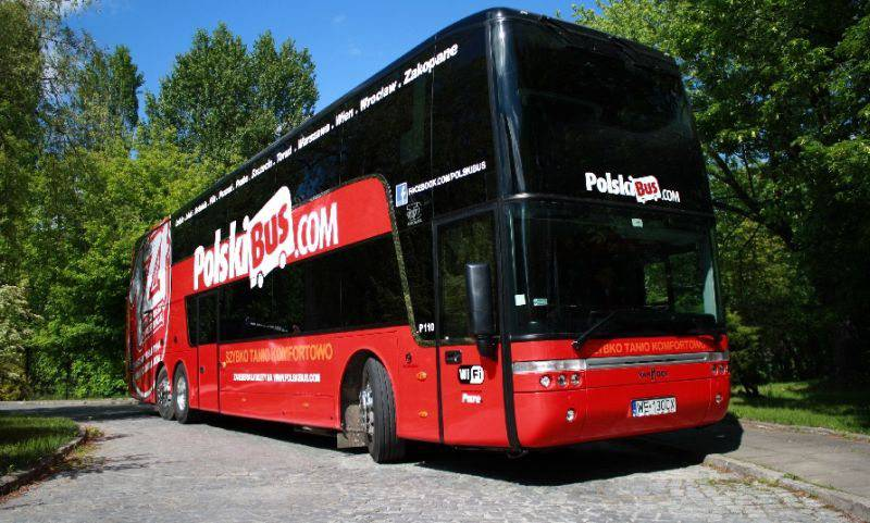 PolskiBus представляет новые рейсы в Украину
