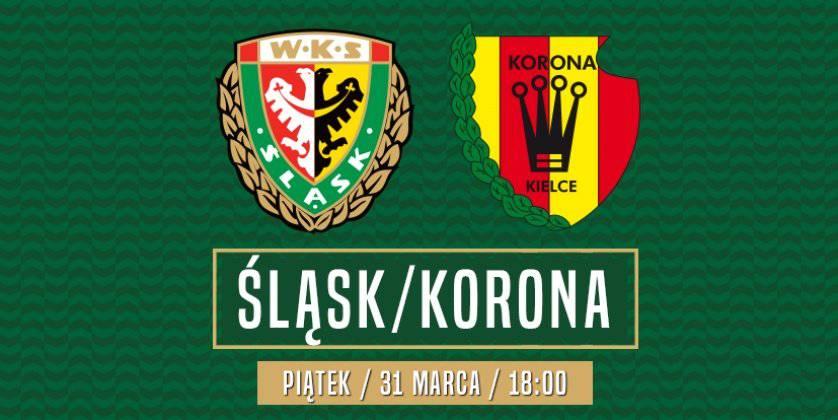 Сьогодні «Шльонськ» проведе домашній матч з «Короною» із Кельце