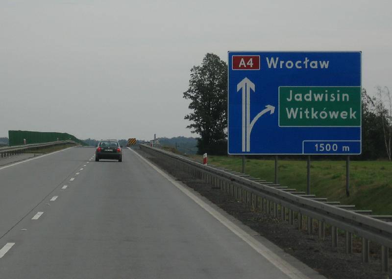 Под Вроцлавом отремонтируют автостраду А4