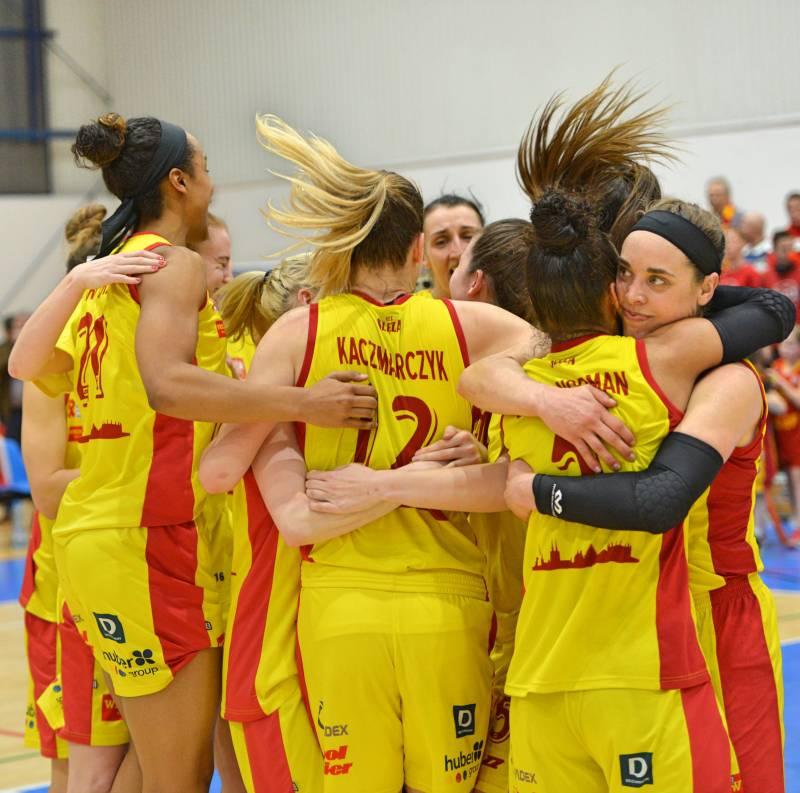 Фінал жіночої баскетбольної ліги у Вроцлаві