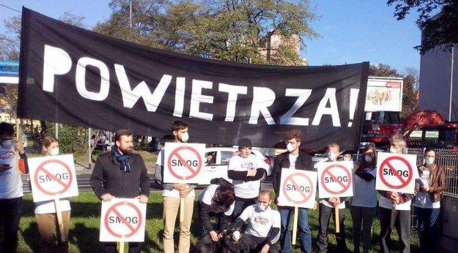 Во Вроцлаве пройдёт белый марш против смога