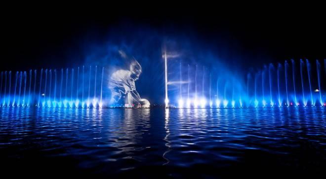 Во Вроцлаве запускают мультимедиальный фонтан
