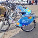 За месяц во Вроцлаве арендовали почти 90 тысяч велосипедов
