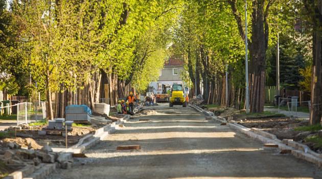 На Ольташинськой фундамент под новую дорогу готов (+ФОТО)