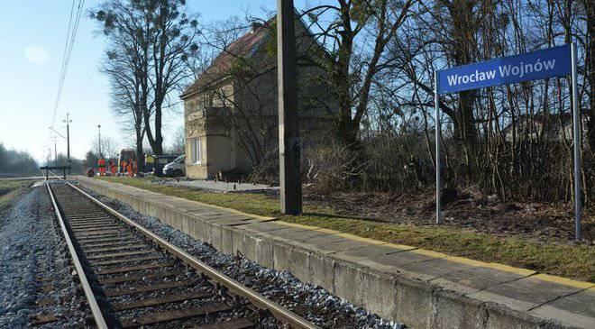 Во Вроцлаве запустили городские поезда
