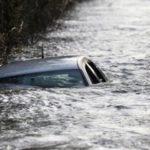 В Нижній Сілезії водій втопив кабріолет, аби врятувати пса