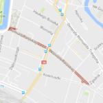 C 7 по 14 мая ожидается утруднения движения по улице Парижской Комуны