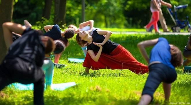 Безкоштовна йога у Вроцлаві