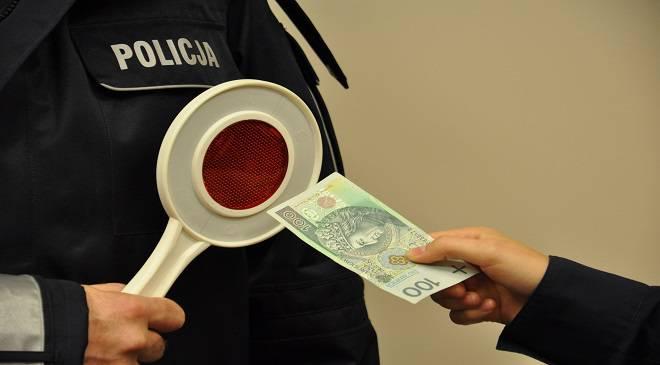 У Нижній Сілезії водій намагався підкупити поліцію 50-а євро