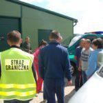 В Легнице пограничники задержали 5 украинцев работавших нелегально