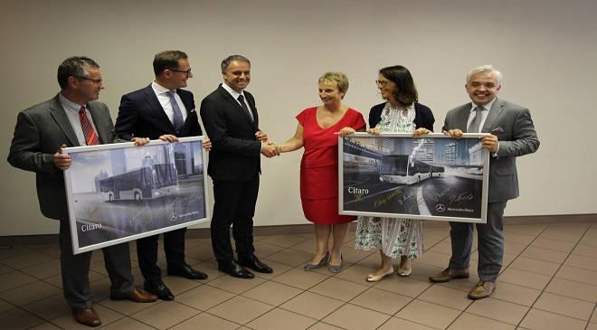 MPK Вроцлава підписало контракт на 10-річну оренду нових автобусів