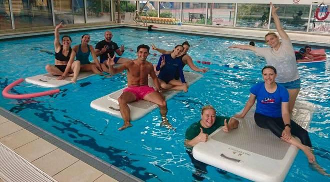 Відтепер у Вроцлаві можна піти на безкоштовний курс водного фітнесу
