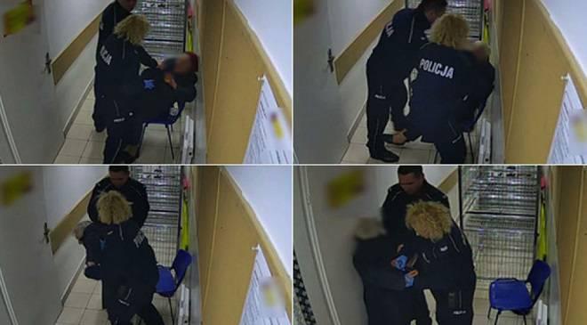 Вроцлавські поліцейські по-звірячому побили бабцю