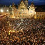 На захист демократії прийшло понад 10 тис. вроцлав'ян