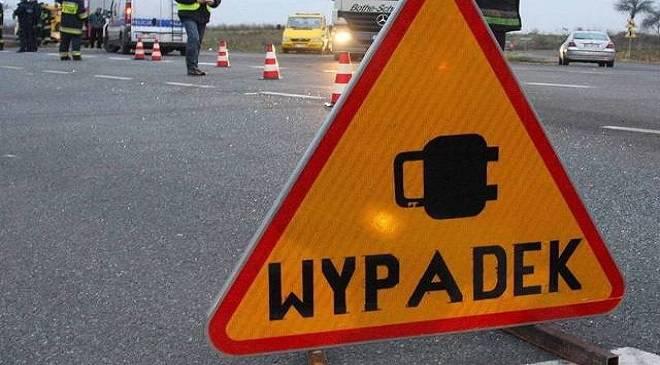 Аварія в напрямку Тшебніци — двоє поранених, дорога заблокована