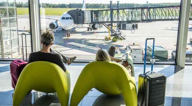 У Вроцлавському аеропорту б'ють рекорди з пасажиропотоку