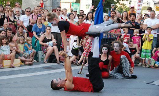 Фестиваль уличного цирка в Олешнице. Будет весело.