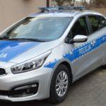 Во Вроцлаве загорелся полицейский автомобиль