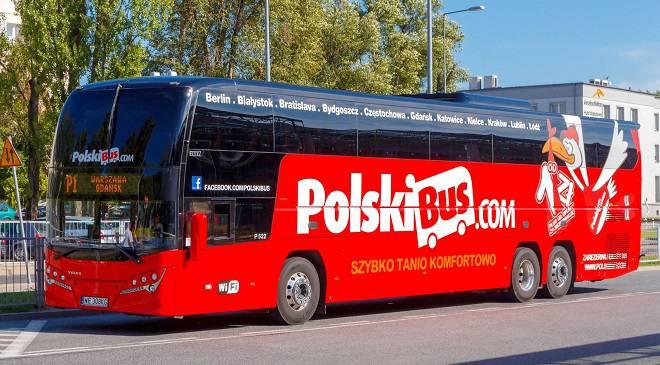 Польський Бус тепер поїде з Вроцлава прямо до Австрії та Чехії