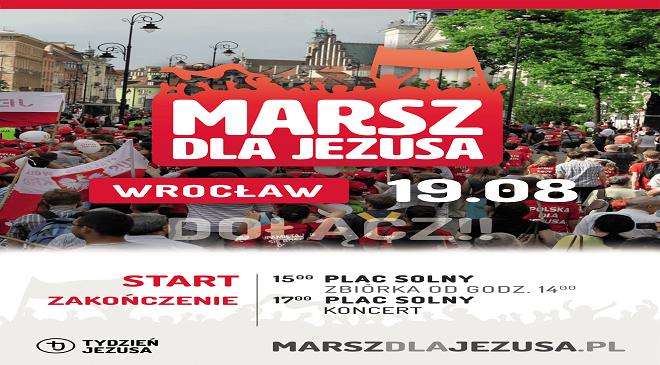 """Завтра вулицями Вроцлава пройде """"Марш для Ісуса"""""""