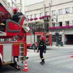 На Олавському Передмісті, в східній частині Вроцлава, спалахнула пожежа