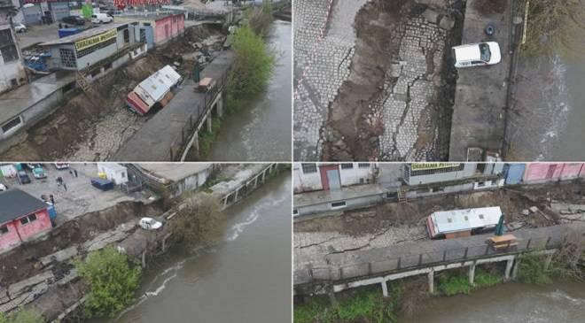 У Вроцлаві обвалилась набережна Одри (+ФОТО, ВІДЕО)