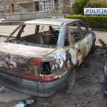 В Нижней Силезии парень сжег автомобиль своей девушке
