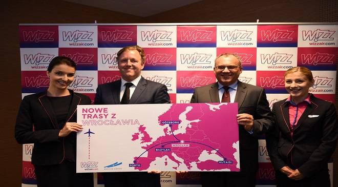 Wizz Air робить ставку на Вроцлав — буде 4 нові напрямки та ще один літак